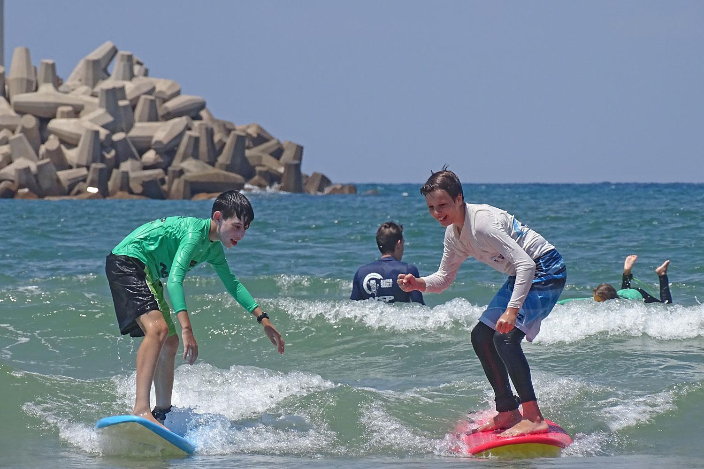 נהנים מחופשת הקיץ