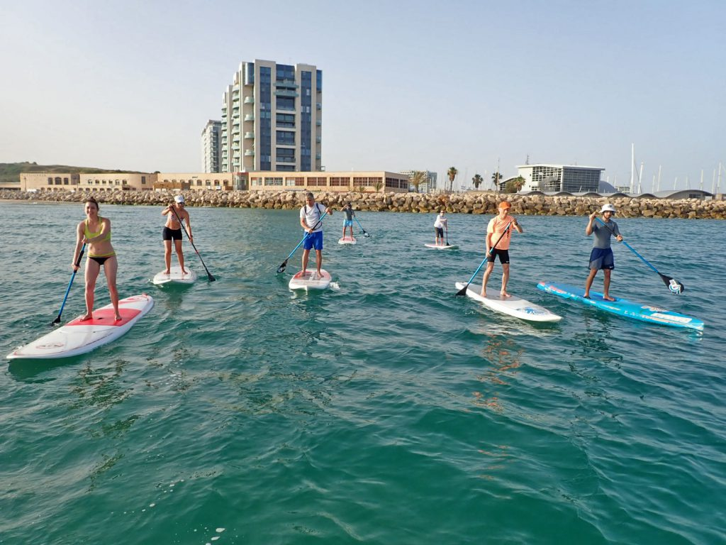 SUP group Herzliya