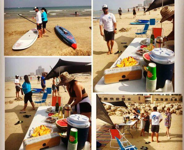 אירועים בחוף הים הרצליה